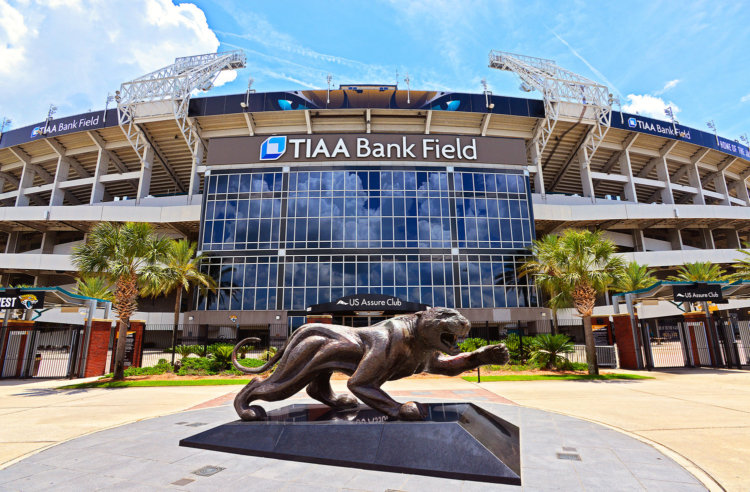 TIAA Bank Field in Jacksonville, FL